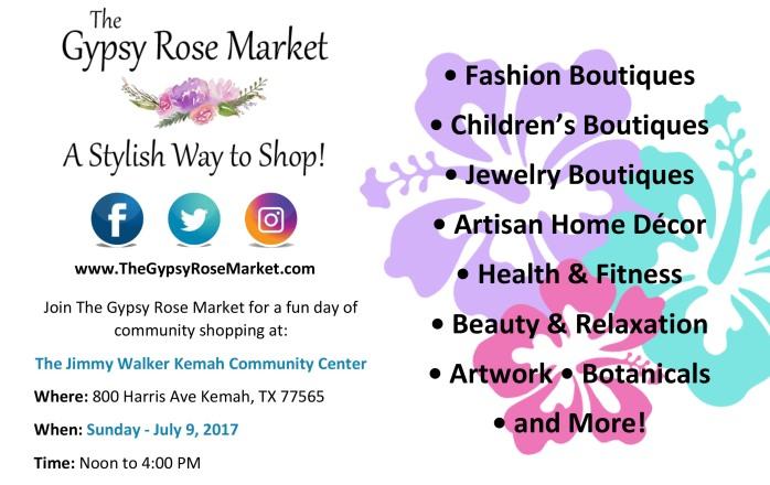 July 9 Kemah Market Flyer