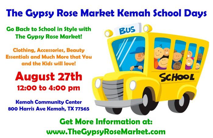 Aug 27th School Days Flyer
