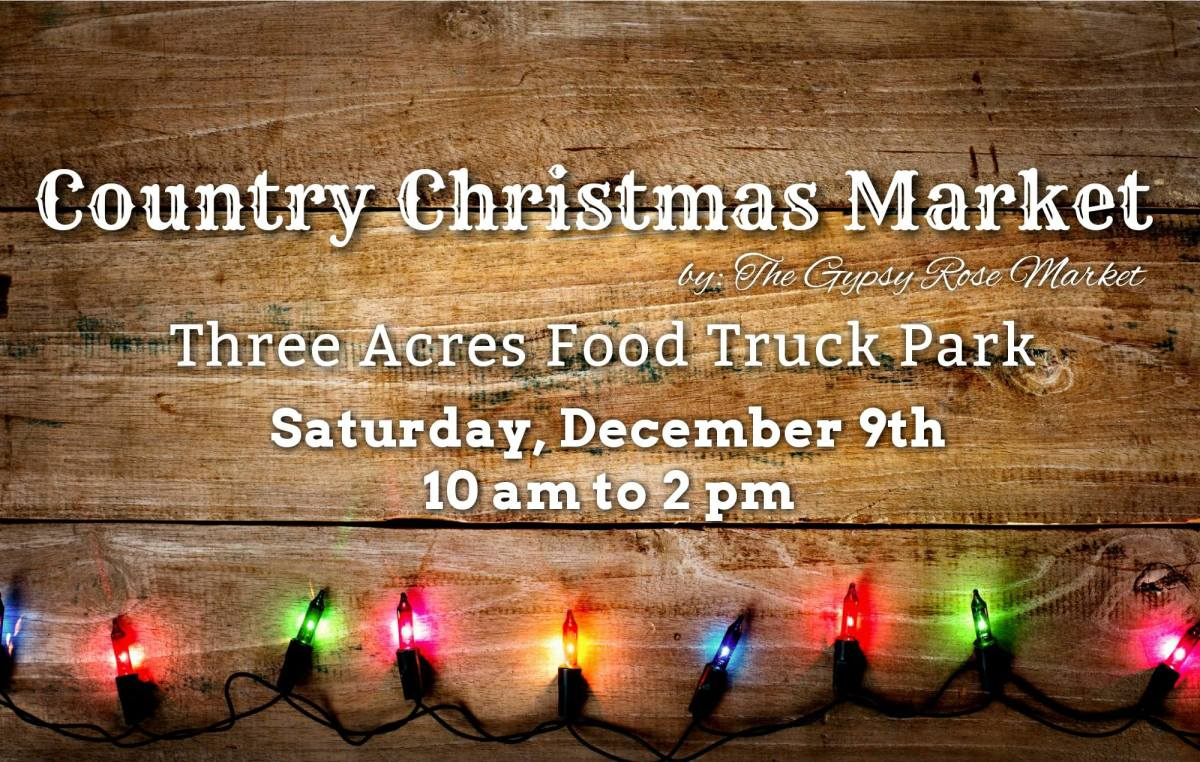 Country Christmas Market by The Gypsy Rose Market